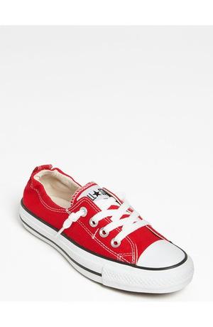 匡威 女式低帮帆布鞋 #Red