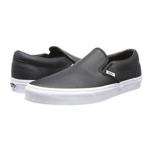 万斯(Vans) 女士休闲鞋 #(Perf Leather) Black