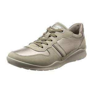 爱步 Ecco Footwear Womens Mobile III Premium 运动鞋平底鞋 #Moon Rock