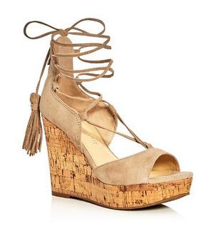 伊万卡·特朗普 坡跟鞋 #Light Natural