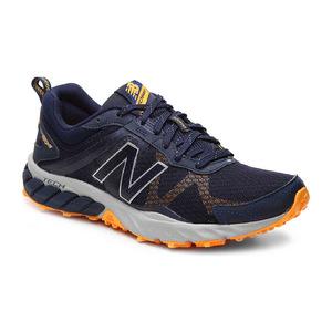 新百伦(New Balance) 610 v5 Lightweight Trail 跑鞋  Mens #NavyOrange #Navy/Orange
