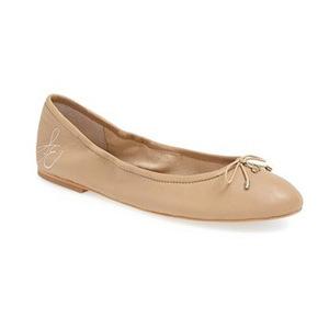 山姆爱德曼(Sam Edelman) 女士芭蕾平底鞋 #Classic Nude Leather