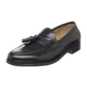 道格斯(Dockers) 男式Lyon黑色乐福鞋休闲皮鞋 #Black