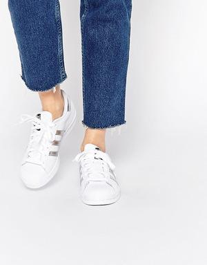 阿迪达斯 女士休闲鞋 #White