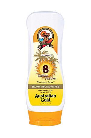 澳洲黄金(Australian Gold) 防晒乳液 全身 SPF 8 (230ml)