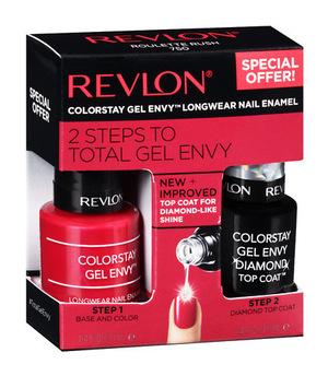 露华浓(Revlon) Gel Envy Nail Kit #Roulette Rush