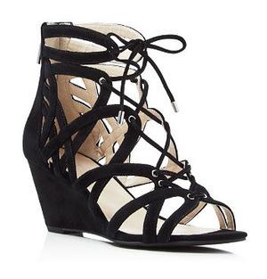 尼斯.柯尔 坡跟鞋 #Black