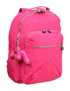 凯浦林(Kipling) 背包双肩包学生包(可放置15寸电脑) #Vibrant Pink