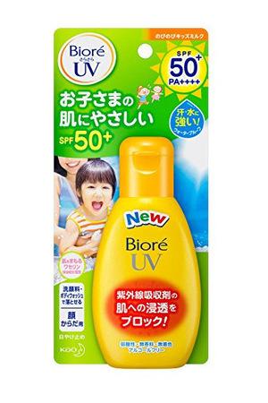 【温和大碗 成膜超快 无需专门的卸妆】碧柔 儿童防晒乳 90g