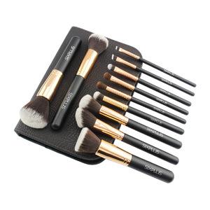 six plus 化妆刷套装 #貴族のゴールド