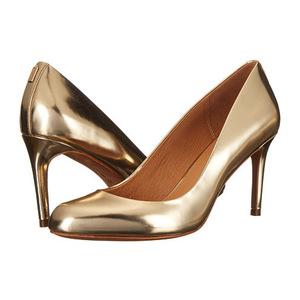 蔻驰(Coach) 女士高跟鞋 #Platinum