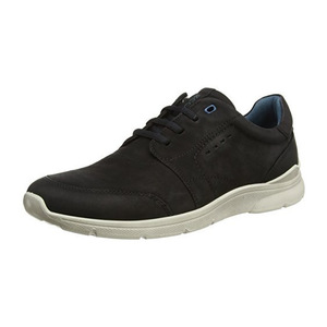 爱步 男士运动休闲鞋 #Black