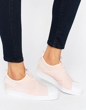 阿迪达斯(Adidas) 女士绑带鞋 #Pink