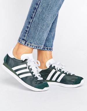 阿迪达斯 女士板鞋 #Utiivy/ftwwht