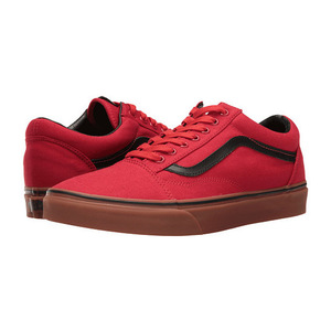 万斯 Old Skool #树胶 Racing RedBlack #(Gum) Racing Red/Black