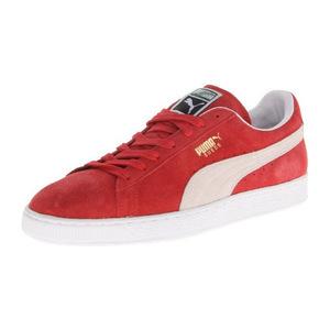 彪马(PUMA) 男士休闲鞋 #High Risk Red/White