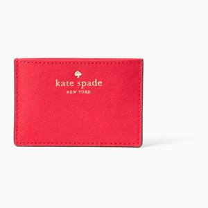 凯特·丝蓓(Kate Spade) 女士钱包 #Rooster red