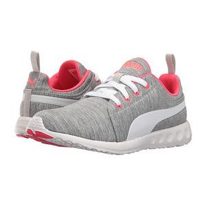 彪马(PUMA) 男士运动鞋 #Grey/White/Bright Plasma
