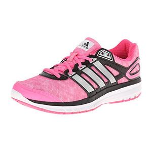 阿迪达斯(Adidas) Duramo 6 W粉色时尚运动鞋 #Solar Pink/Metallic/Silver/Black