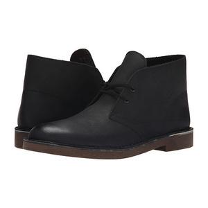 其乐(Clarks) 男士靴子 #Black Leather