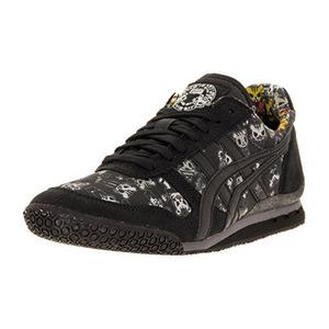 鬼冢虎(Onitsuka Tiger) 中性嘻哈运动鞋 #Black/Black
