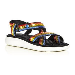 马克·雅克布 坡跟鞋 #Rainbow Multi