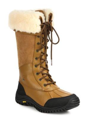 UGG Australia-棕色系带靴子 #Brown