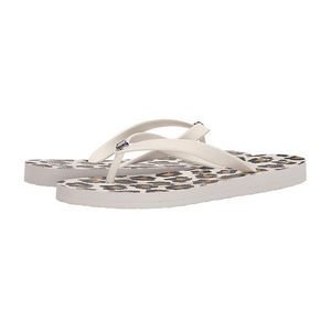 蔻驰(Coach) 女士凉鞋 #Chalk/Ivory/Chalk Rubber/Ocelot