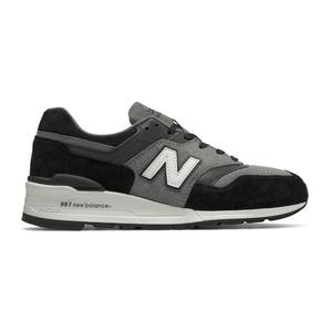 新百伦(New Balance) 997 #黑色 + 灰色 #Black with Grey