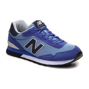 新百伦(New Balance) 515 Retro 运动鞋  Mens #BlueNavyWhite #Blue/Navy/White