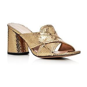 马克·雅克布 晚宴鞋 #Gold