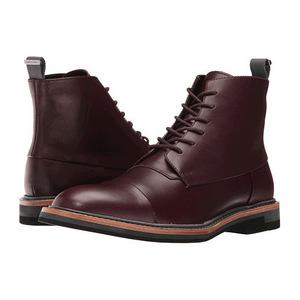 卡尔文·克雷恩 Jabin #Oxblood 牛犊皮真皮 #Oxblood Calf Leather