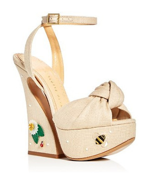 Charlotte Olympia 女士凉鞋 #Natural