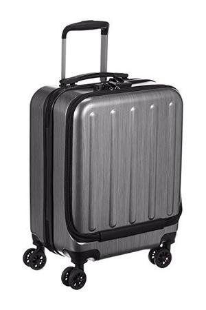 旅行箱38L 47cm 2.8kg #メタリックブラック
