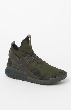 阿迪达斯(Adidas) 高帮鞋 #OLIVE/BLACK