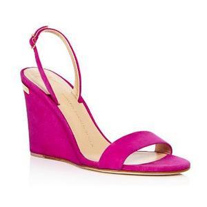 朱塞佩·萨诺第 坡跟鞋 #Party Pink