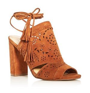 伊万卡·特朗普 女士凉鞋 #Cognac