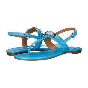 蔻驰(Coach) 多色可选!蓝色夹脚凉鞋 #Azure