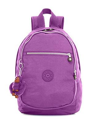 凯浦林(Kipling) 女士尼龙双肩包 #Violet Purple