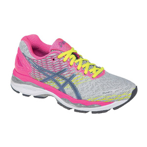 亚瑟士(Asics) 跑步鞋 #Silver/Titanium/Hot Pink