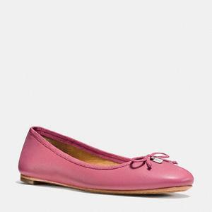 蔻驰(Coach) 女士平底鞋 #ROUGE