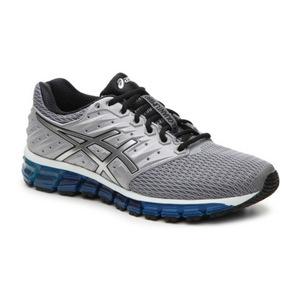 亚瑟士(Asics) 男士低帮休闲鞋 #Grey/Black/Blue
