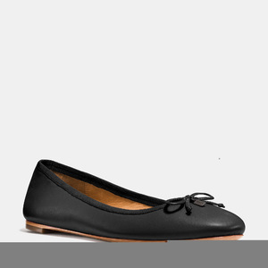 蔻驰(Coach) 芭蕾鞋 #BLACK