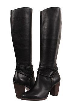 UGG 女士靴子 #Black Leather