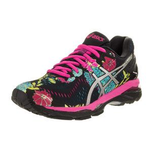 亚瑟士 跑步鞋 #Black/Silver/Pink Glow