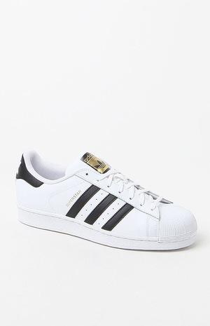 阿迪达斯(Adidas) 低帮鞋 #WHITE/BLACK