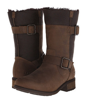 UGG 女士靴子 #Stout Twinface/Leather