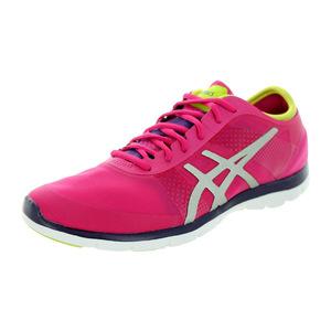 亚瑟士 跑步鞋 #Hot Pink/Silver/Lime