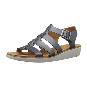 娜然(Naturalizer) Women's Donna Wedge Sandal #Blue