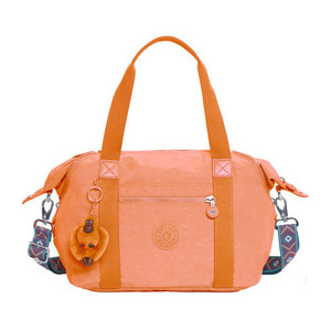凯浦林(Kipling) Art S 手提包 #桃红粉红 Combo #Peachy Pink Combo